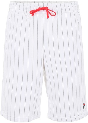 Fila Pinstriped Logo Shorts