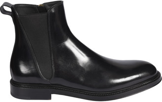 Dolce & Gabbana Side-zipped Ankle Boots