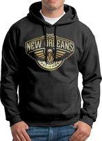 Sarah Men's New Orleans Pelicans Gold Logo Hoodie L