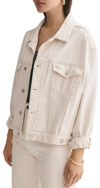 AGOLDE Charli Oversize Denim Jacket in Heed