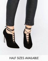 Asos PRYCE Lace Up Pointed Heels