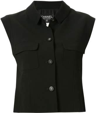 Chanel Pre-Owned 1996 buttoned cropped vest