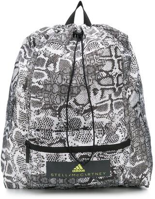 adidas by Stella McCartney Snakeskin-Print Backpack