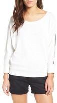 Splendid Women's Split Sleeve Sweatshirt