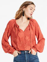 Lucky Brand Textured Blouse