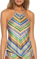 Becca East Village Halter Tankini Top