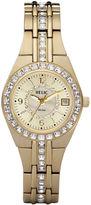 JCPenney RELIC Relic Womens Gold-Tone Bracelet Watch ZR11778