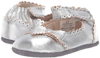 Robeez Catherine Mini Shoez (Infant/Toddler) (Silver) Girl's Shoes