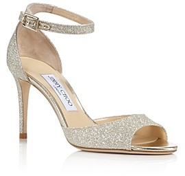 Jimmy Choo Women's Annie 85 High-Heel Ankle Strap Sandals