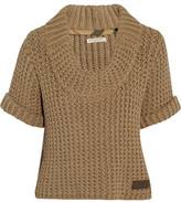 Burberry Short-sleeved cotton sweater