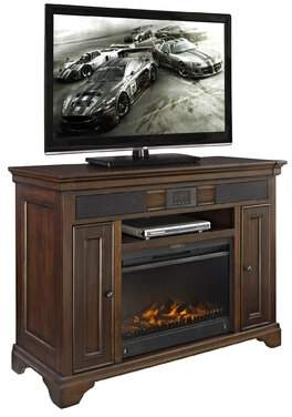 """Fairfax Home Collections Belcourt TV Stand for TVs up to 55"""" with Fireplace Fairfax Home Collections"""