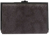 Sondra Roberts Metallic Faux Calf Hair Clutch