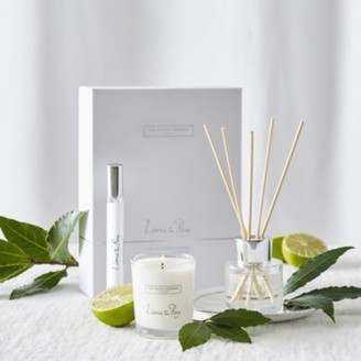 The White Company Lime & Bay Mini Home Scenting Set, No Colour, One Size