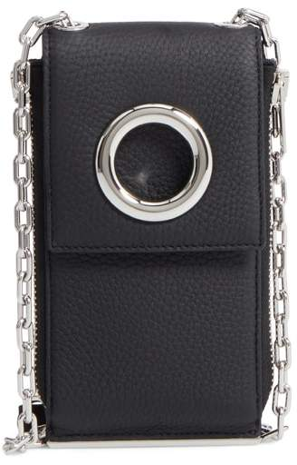 Alexander Wang Riot Leather Wallet on a Chain
