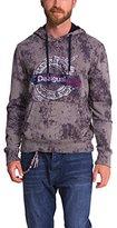 Desigual Men's Sweat_Elias Hooded Long Sleeve Sweatshirt