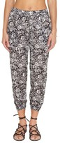 Amuse Society Women's Rajah Print Pants