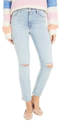 Hudson Barbara High-Waist Crop Straight in Worn Strangers (Worn Strangers) Women's Jeans