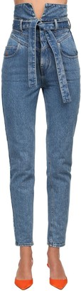 ATTICO High Waist Denim Jeans