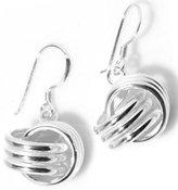 Clevereve Designer Series .925 Sterling Silver 2 Grams/Each Designer Love Knot