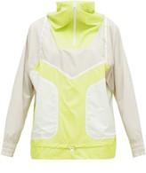 Half zip Technical Running Jacket Womens Yellow Multi