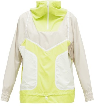 adidas by Stella McCartney Half-zip Technical Running Jacket - Womens - Yellow Multi