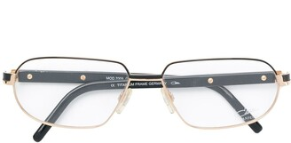 Cazal Classic Square Glasses