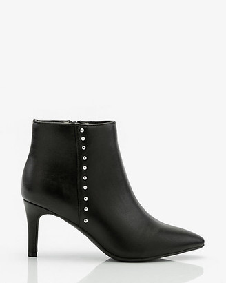 Le Château Studded Pointy Toe Ankle Boot