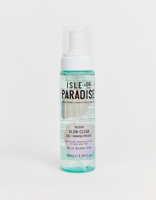 Isle of Paradise Medium Glow Clear Self Tanning Mousse
