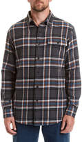 Stanley Pencil Pocket Stall Long Sleeve Flannel Shirt
