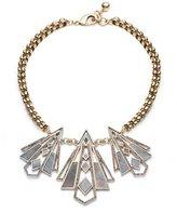 Lulu Frost Odeon Three-Pendant Labradorite Necklace