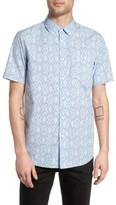 Obey Men's Hale Woven Shirt