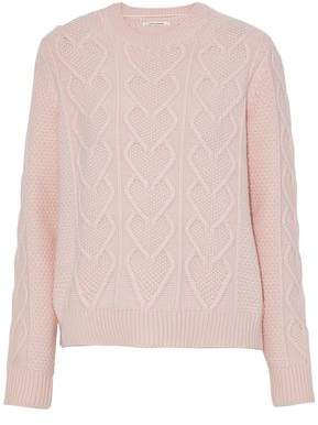 Chinti and Parker Knitted Wool And Cashmere-Blend Sweater