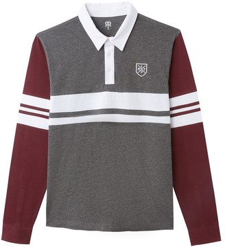 La Redoute Collections Long Sleeved Polo Shirt