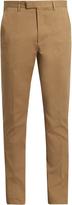 Gucci Slim-leg cotton-blend gabardine chino trousers