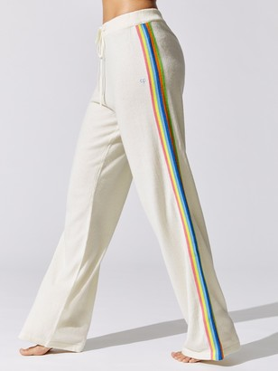 Chinti and Parker Side Stripe Wide Leg Pant