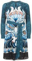 Marina Rinaldi Long Sleeve A-Line Printed Tunic