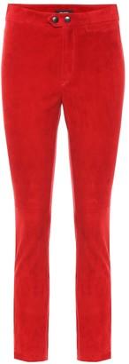 Isabel Marant Motifa skinny suede pants