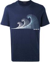 MICHAEL Michael Kors printed T-shirt - men - Cotton - L