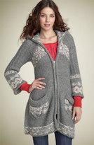 'New Kit' Nordic Sweater Coat