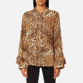 Gestuz Women's Christine Leopard Shirt