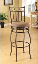 Acme Swivel Beige Bar Chair (Set of 2)