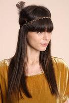 Braided Feather Headband