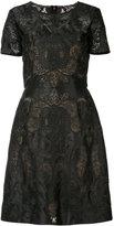 Marchesa embroidered dress - women - Polyamide - 16