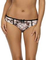 Parfait by Affinitas Charlotte Floral Shimmer Bikini Brief 6905