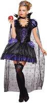Dreamgirl Women's Evil Queen Costume, Black/Purple