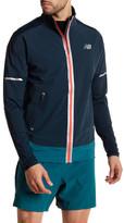 New Balance Mock Neck Front Zip Jacket