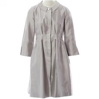 Armani Collezioni Grey Silk Jackets