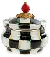 Mackenzie Childs MacKenzie-Childs Courtly Check Enamel Squashed Pot