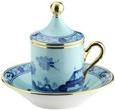 Richard Ginori 1735 Oriente Italiano Iris Espresso Set For 2