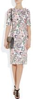 Jil Sander Paisley-print cotton-poplin dress